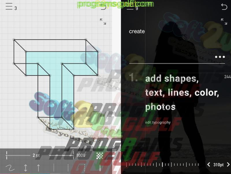 Photo of تحميل تطبيق Create لعمل الاشكال والرسومات الهندسية علي الايفون والايباد
