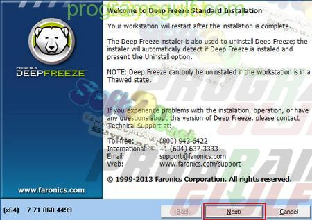 deep freeze 2012 clubic