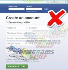 حماية حساب الفيس بوك موقع مزيف