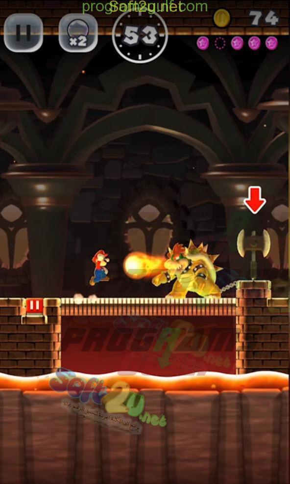 سوبر ماريو رن Super Mario Run صور من داخل اللعبة
