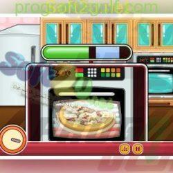 طبخ البيتزا مع باربي Barbie Chef Pizza (2)