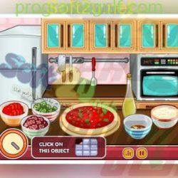 طبخ البيتزا مع باربي Barbie Chef Pizza (5)