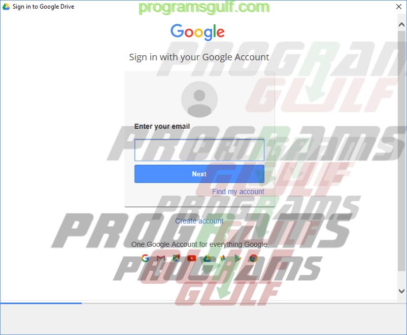 شرح تثبيت جوجل درايف google drive على الحاسوب تسجيل الدخول