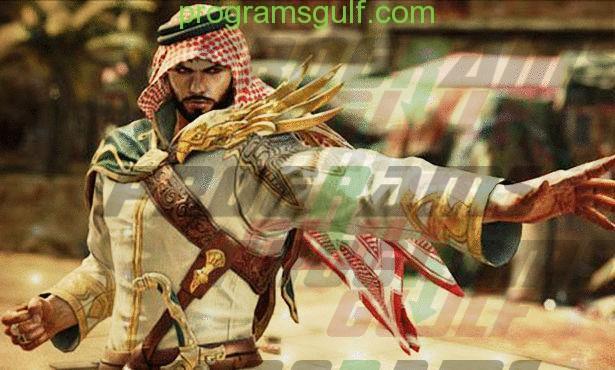 شاهين الشخصية العربية في لعبة tekken 7
