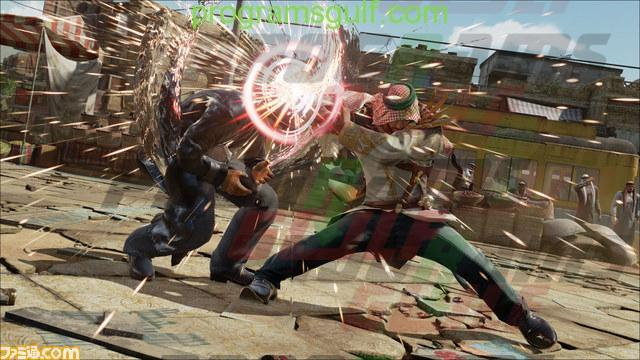 صورة قتالية لـ شاهين الشخصية العربية في لعبة tekken 7