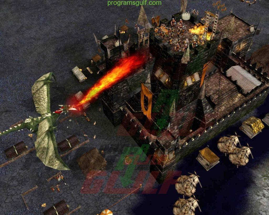 لعبة صلاح الدين الجزء الثاني سترونج هولد ليجند Stronghold Legends20