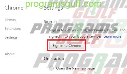 تسجيل الدخول في غوغل كروم