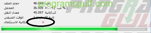 داونلود مانجر 1 ملف غير قابل لاستكمال التحميل