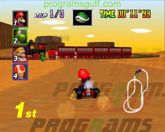 لعبة ماريو كارت العاب سيارات للاولاد
