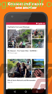 تحميل تطبيق المقابلات الحية Meetup للاندرويد والايفون