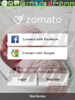 zomato first scean