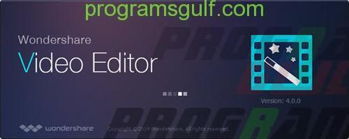 برنامج Wondershare Video Editor