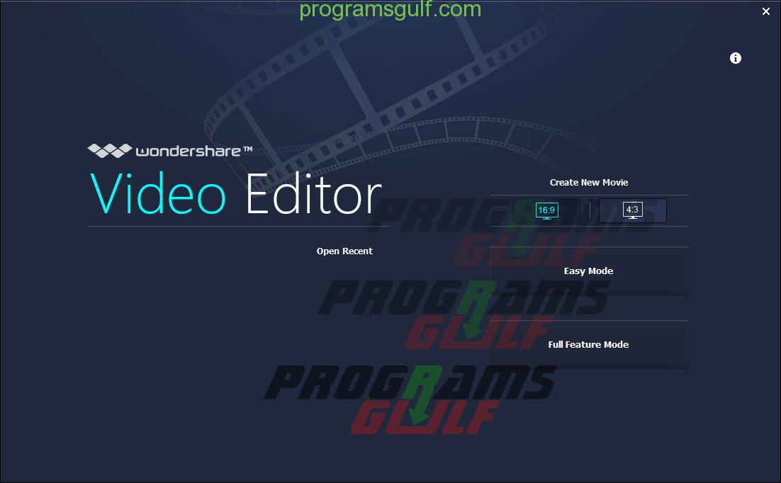 برنامج Wondershare Video Editor