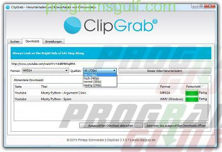 تحميل برنامج Clip Grab 2018 البرنامج الأفضل للتحميل من اليوتيوب