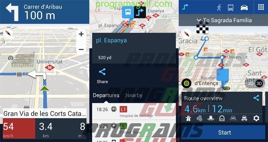 تحميل تطبيق HERE MAPS للخرائط و الملاحة دون إتصال بالإنترنت