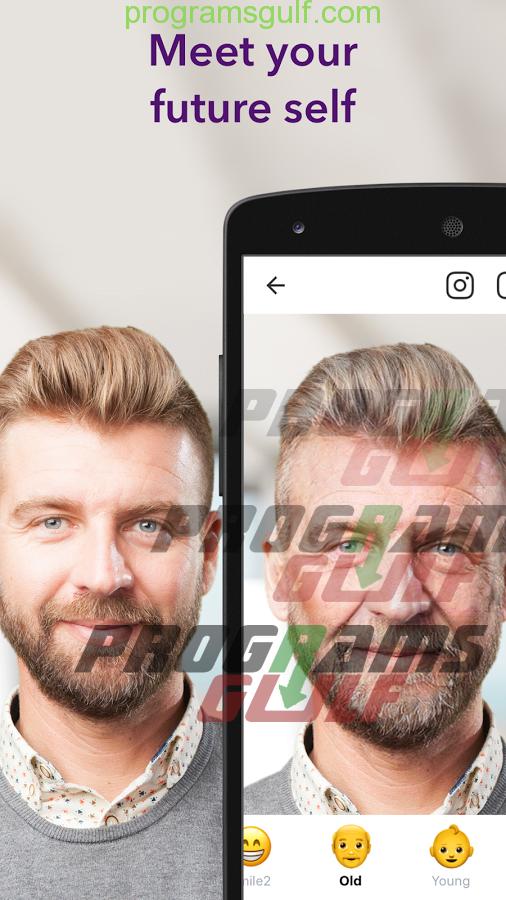 تحميل برنامج FaceApp للاخذ صور سيلفي اكثر احترافية