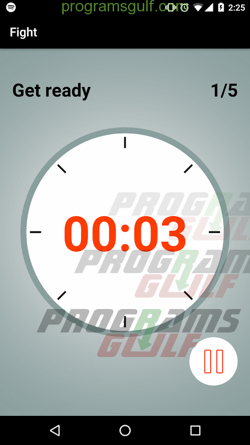 Boxing Round Interval Timer