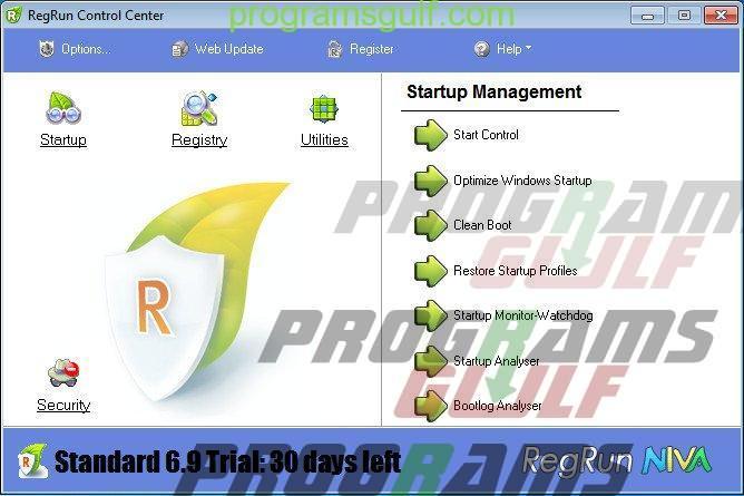 تحميل برنامج Reg Run security suite لمكافحة جميع أنواع الفيروسات على جهاز الكومبيوتر الخاص بك