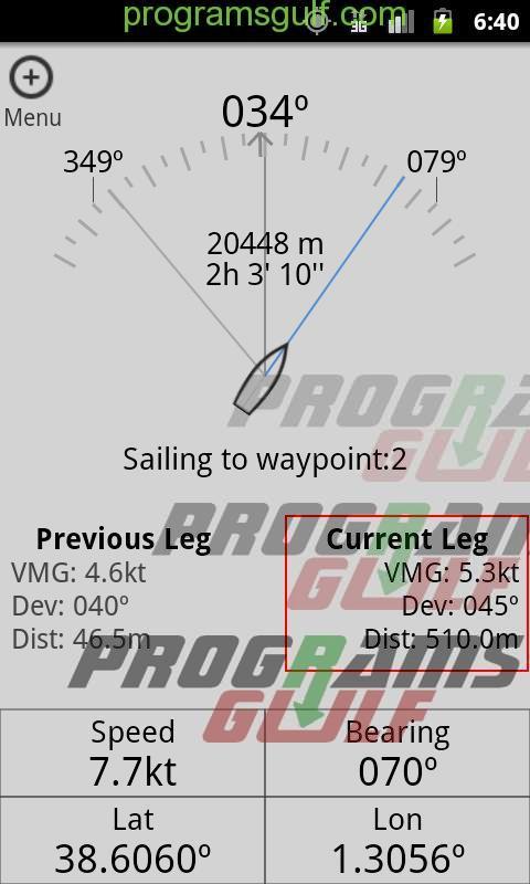 تطبيق The Fast Track GPS Tool