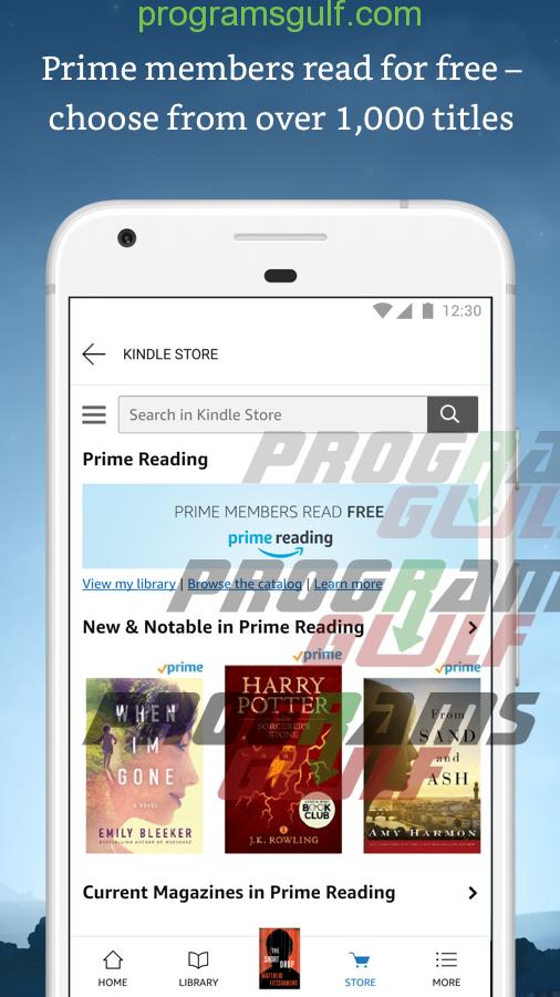 تحميل تطبيق كيندل آمازون / Amazon Kindle أفضل متجر كتب إلكترونية في العالم.