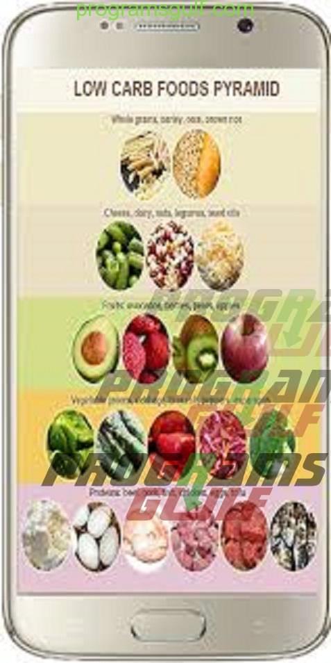 تحميل وصفات منخفضة الكربوهيدرات