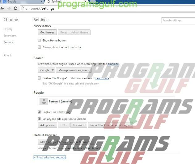 حذف ملفات الكوكيز من المتصفح بطريقة سهلة بدون تحميل برامج على جهازك
