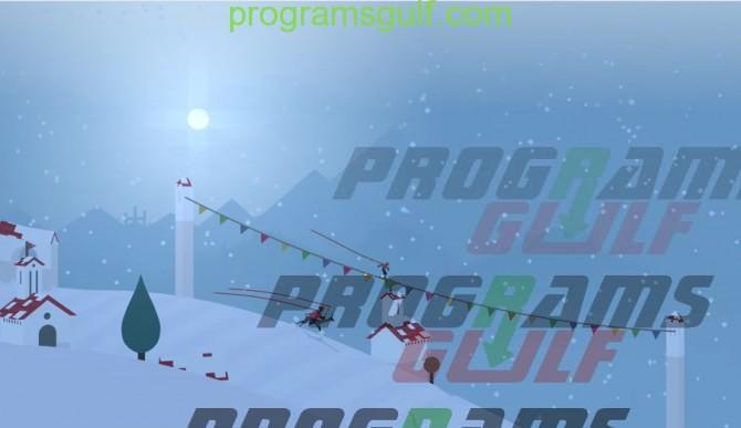 لعبة تزلج و مغامرات