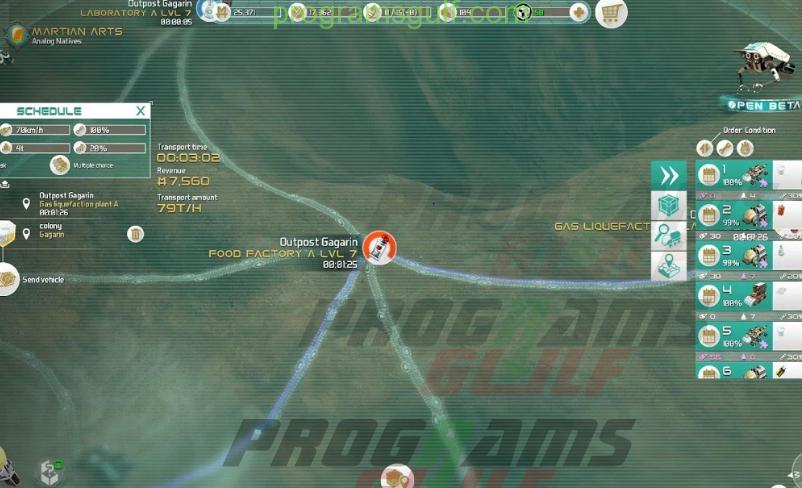 تحميل لعبة Mars Tomorrow من العاب سباق للسيارات