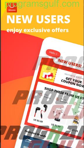 تطبيق AliXpress للتسوق عبر الأنترنت