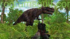 لعبة صيد الديناصورات