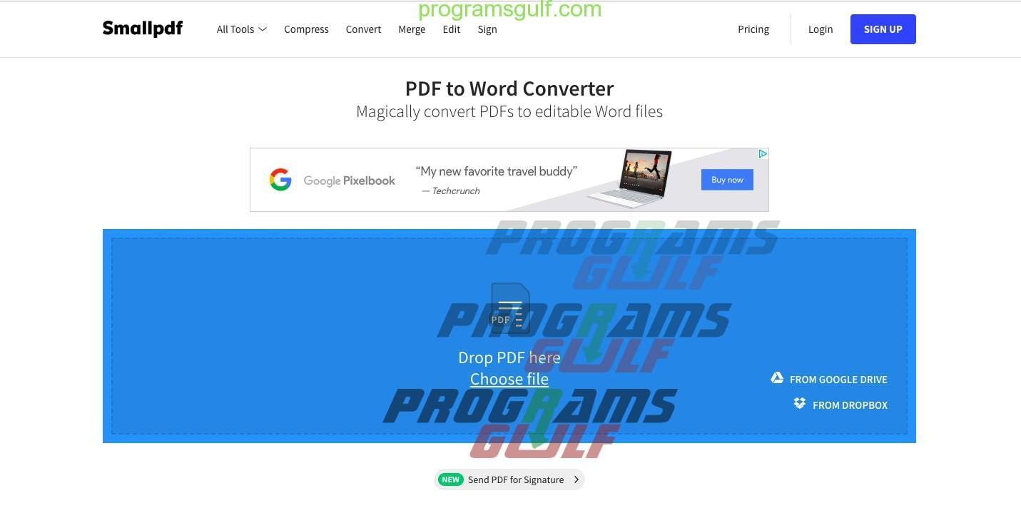 افضل برنامج لتحويل ملف PDF إلى مستند Word