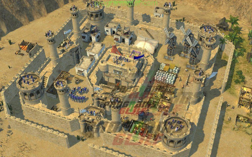 stronghold crusader 2 لعبة صلاح الدين