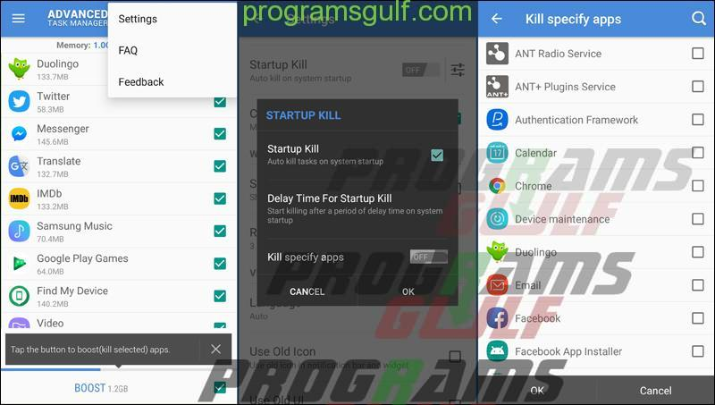 تطبيق Advanced Task Manager