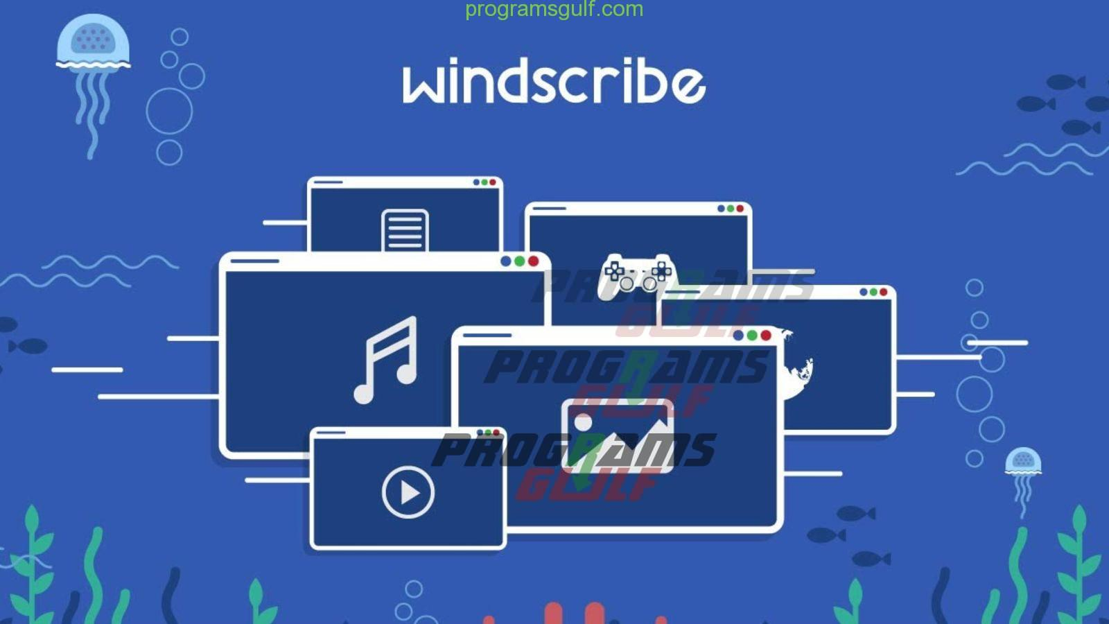 تثبيت Windscribe