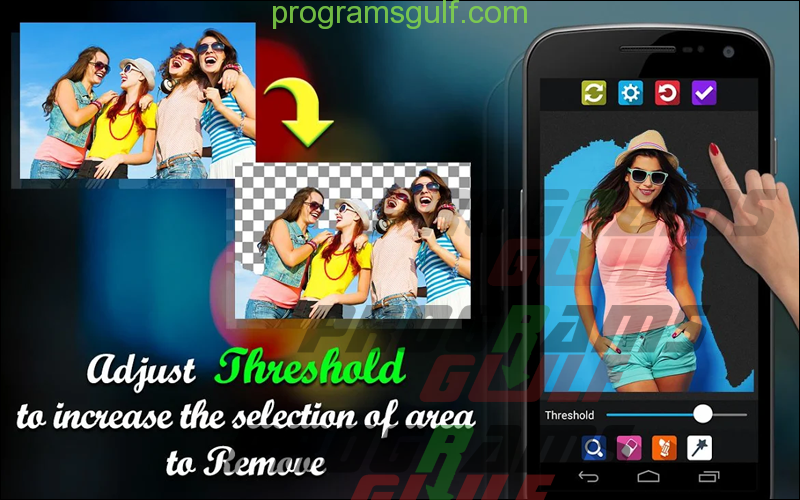 تطبيق Background Remover