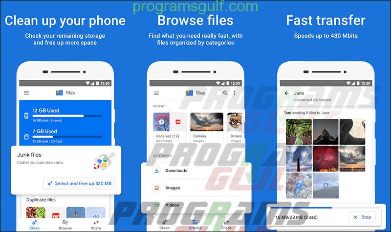 تطبيق Files by Google