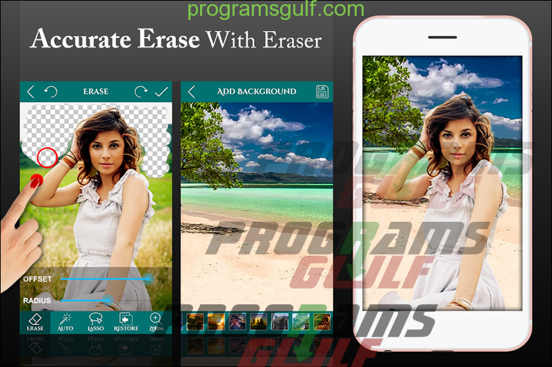 تطبيق Ultimate Background Eraser