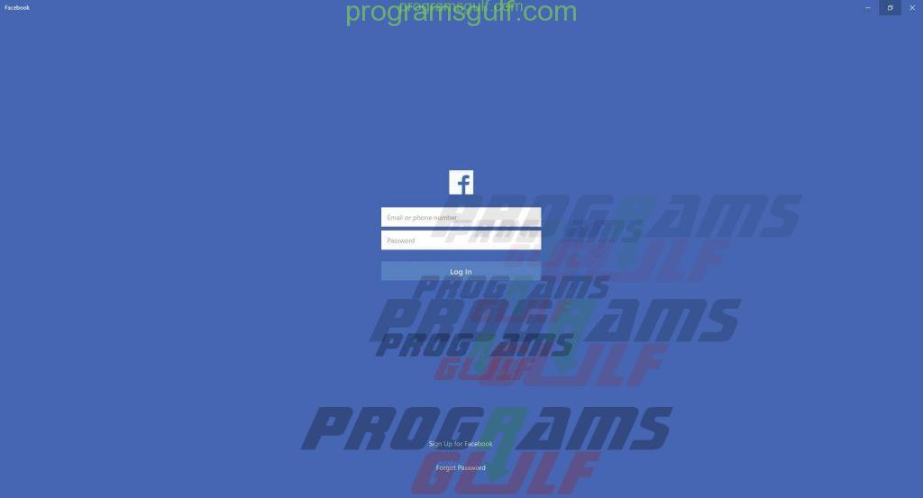صفحة تسجيل فيسبوك
