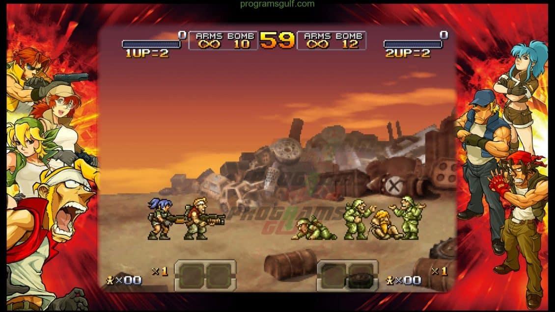 لعبة حرب الخليج Metal Slug