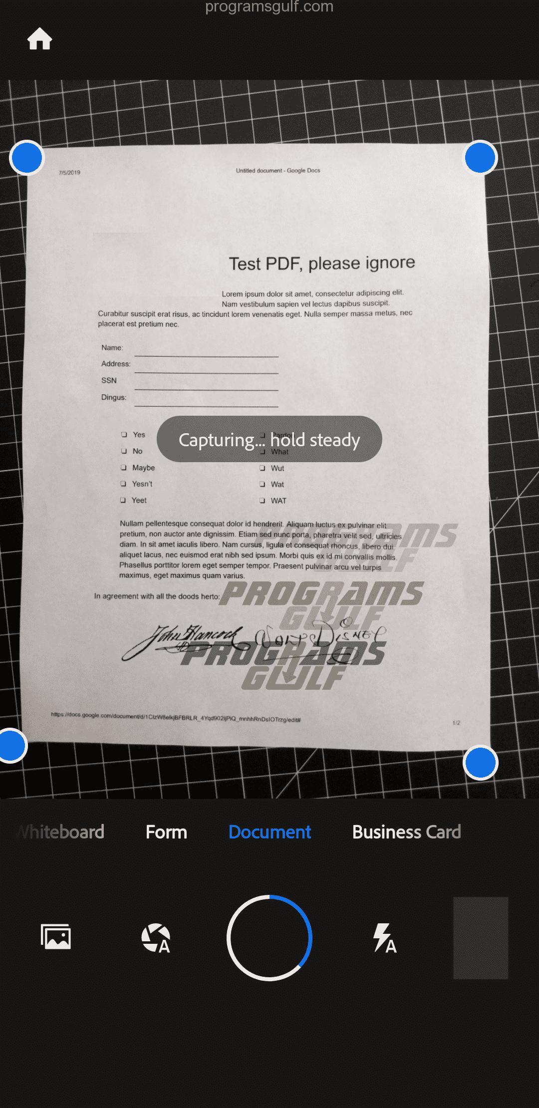كيفية العمل مع تطبيق Adobe Scan لإنشاء ملف PDF؟