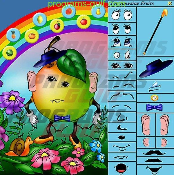 لعبة Ten Amazing Fruits