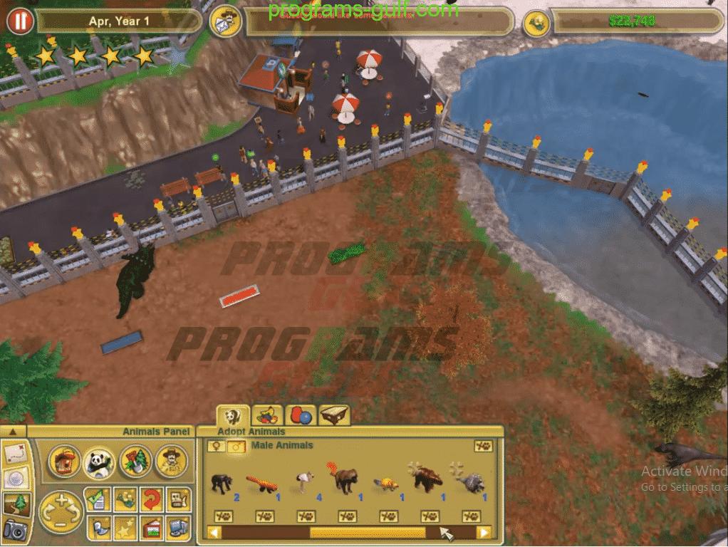 لعبة Zoo Tycoon 2