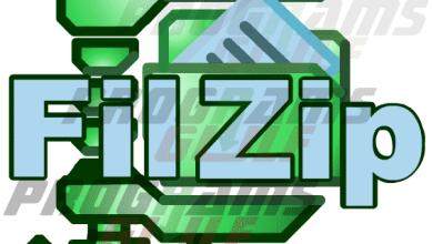 تحميل برنامج Filzip 3.06 لضغط ملفات الكمبيوتر