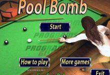لعبة Pool Bomb