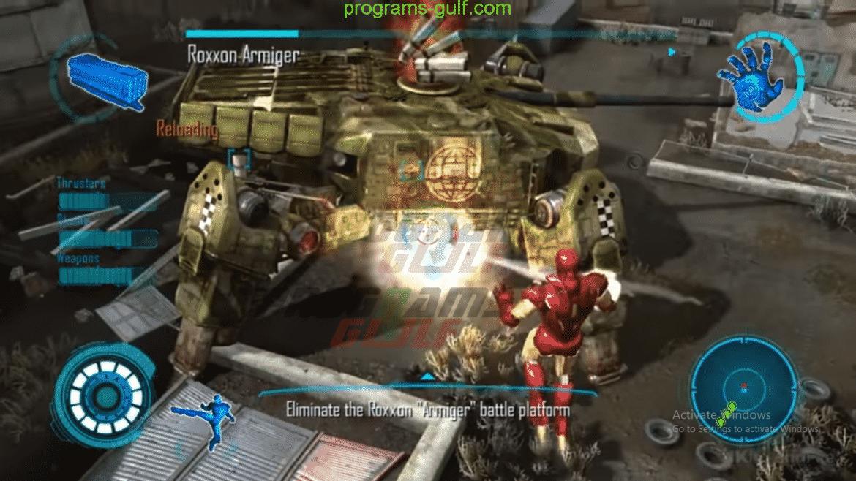 لعبة أيرون مان Iron Man 2