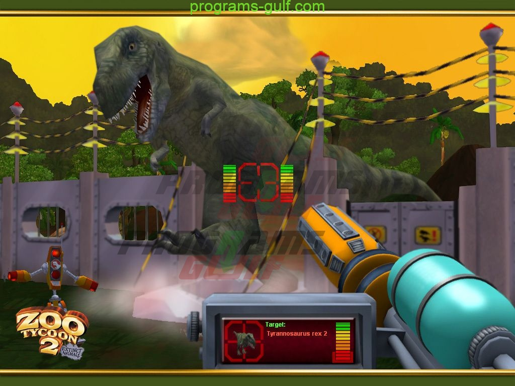 لعبة zoo tycoon 2 Extinct Animals