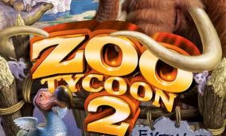 تحميل لعبة zoo tycoon 2 Extinct Animals